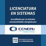 Acreditación de la carrera de Licenciatura en Sistemas