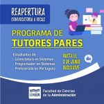 Becas de Tutores Pares