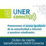 Beneficiados de Uner Conectar