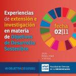 Experiencias de Extensión e Investigación en materia de Objetivos de Desarrollo Sostenible
