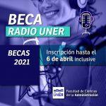 Convocatoria Beca de Formación – Radio UNER Concordia 97.3 MHz