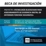 Beca de Investigación para el Proyecto PID 7059