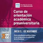 Curso de orientación académica preuniversitaria