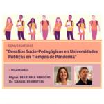 Desafíos Socio-Pedagógicos en Universidades Públicas en Tiempos de Pandemia